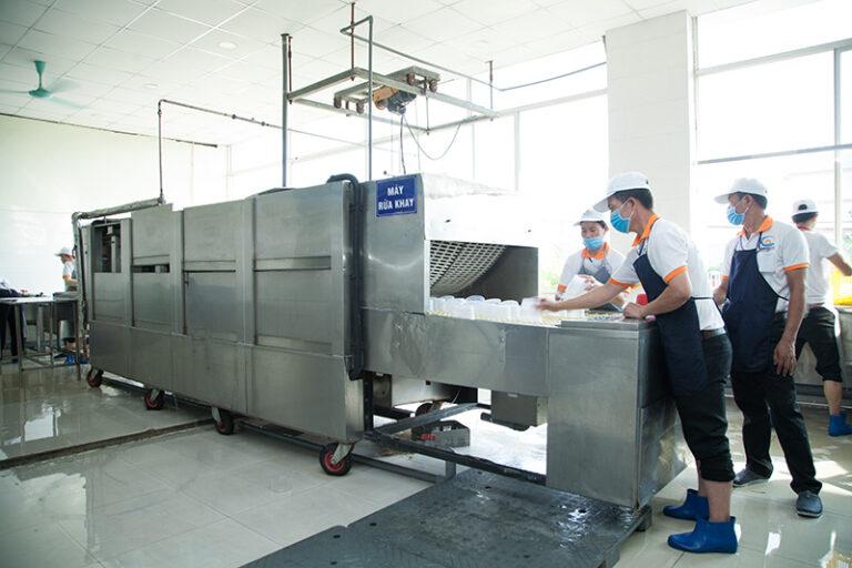 dây chuyền sản xuất khép kín
