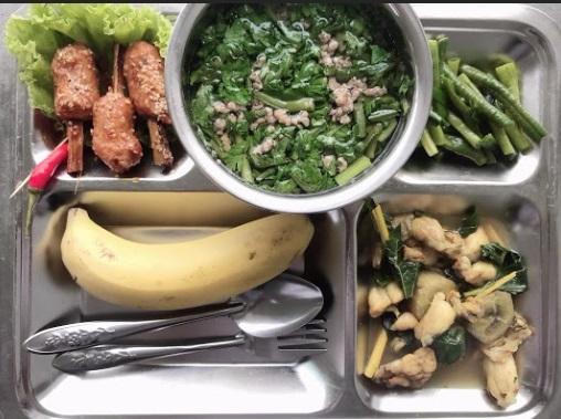 Suất ăn trường học