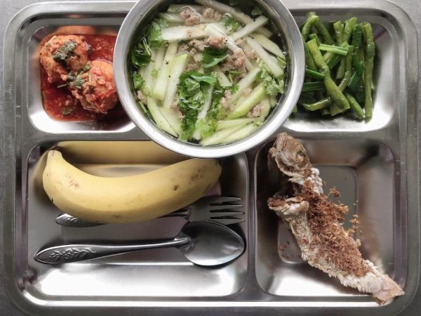 Suất ăn 25.000 đồng tại Sunfood Catering Taste & Beauty