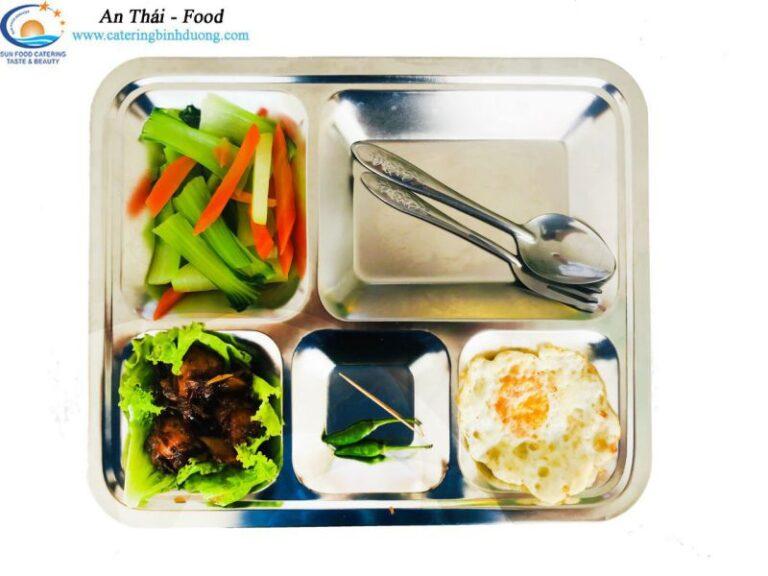 An Thái chuyên cung cấp khẩu phần ăn hợp lý trong ngày
