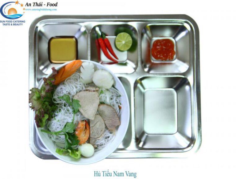 Bữa sáng phong phú dành trong ngân hàng thực đơn của Thái An