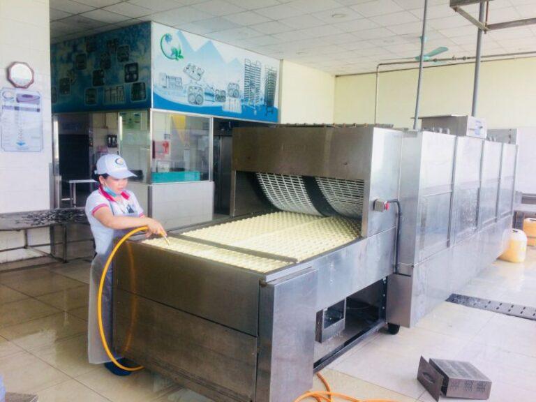 Quy trình vệ sinh bếp ăn tại An Thái